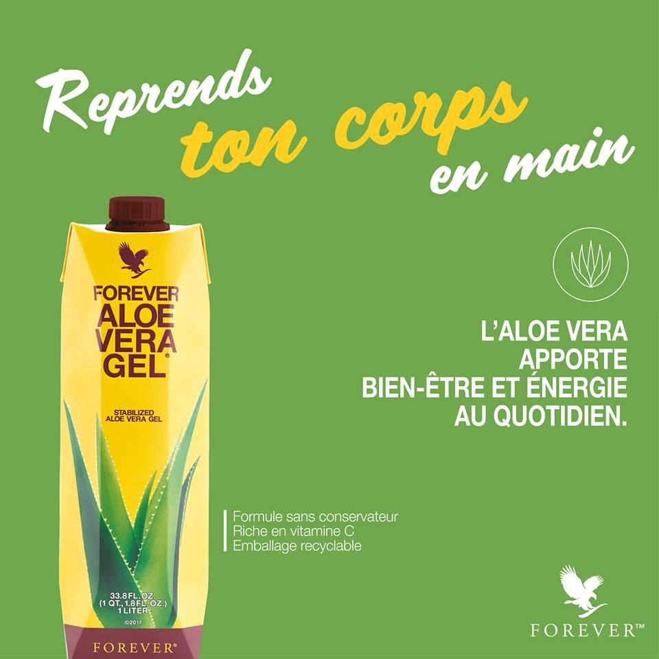 Forever Aloe vera Gel nouvelle formule
