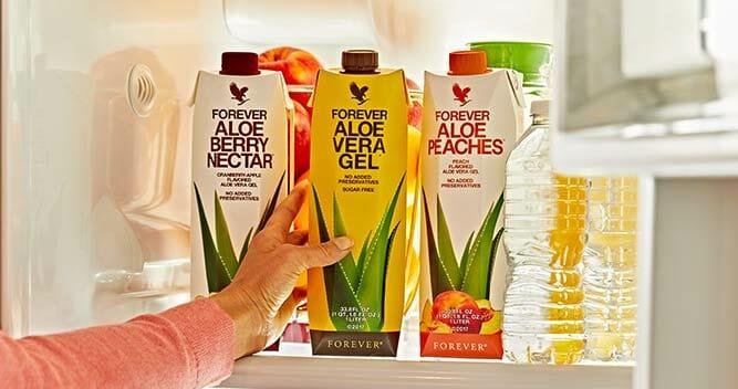 Gel Aloe vera à boire Forever