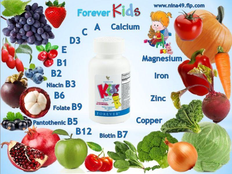 Bienfaits Forever Kids