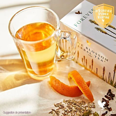 Aloe Blossom Herbal Tea Bienfait