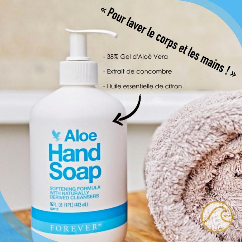 Bienfaits Forever Aloe Hand Soap