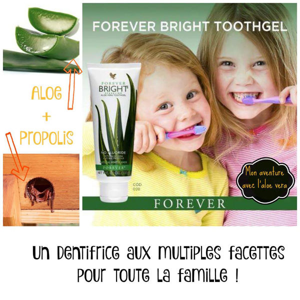 Dentifrice Aloe Forever Bright