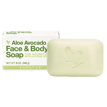 Forever Aloe Avocado Face Body Soap