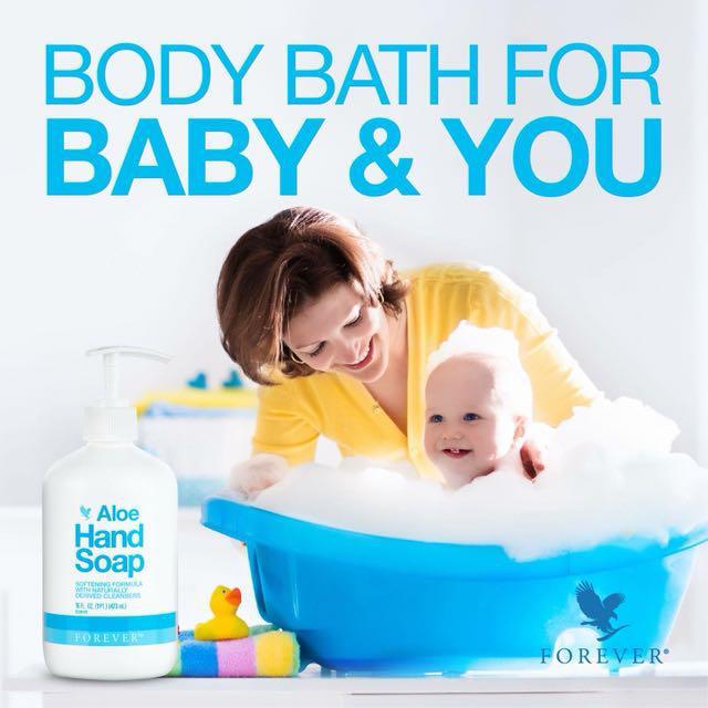 Utilisation Aloe Hand Soap Forever bebe